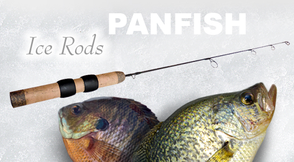 Limit Creek Medium Action Ice Rod for Panfish